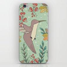 Dancing Hummingbirds iPhone & iPod Skin