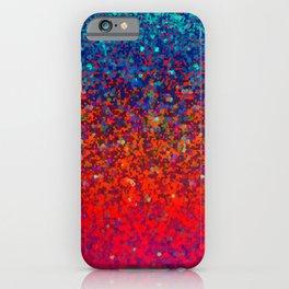 Glitter Dust Background G172 iPhone Case