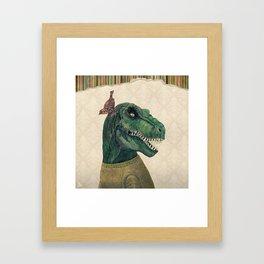 Good Old Times Framed Art Print