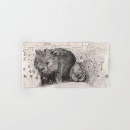 Path to wombat pool Hand & Bath Towel