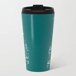 Comrades in Turquoise Travel Mug