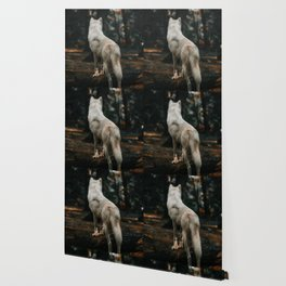 Wolf Backside (Color) Wallpaper