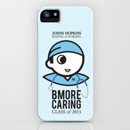 JHU Bmore Caring | Male iPhone Case
