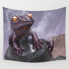 Fire Salamander Wall Tapestry