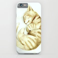 Sleeping kitty iPhone 6s Slim Case
