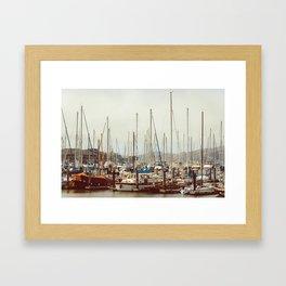 On The Bay | San Francisco Framed Art Print