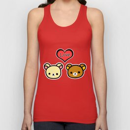 Bear Love Unisex Tank Top