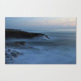 Ocean Beach San Diego Ca, Sunset Canvas Print