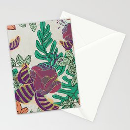 Lush Florals (Jungla 01) Stationery Cards