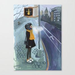NYC Winter Canvas Print
