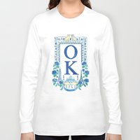 kim sy ok Long Sleeve T-shirts featuring OK by RachelRogers