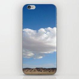 cloud photography iPhone Skin