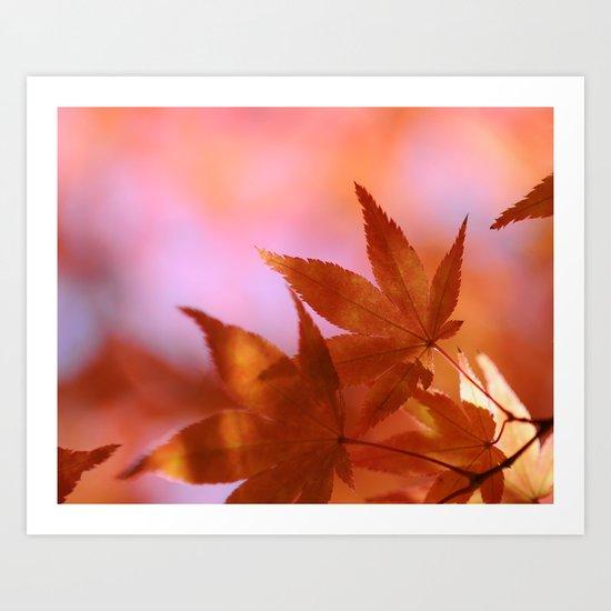 Fall Symphony Art Print