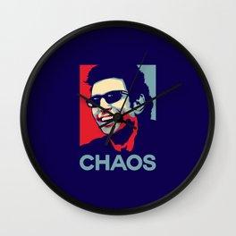 'Chaos' Ian Malcolm (Jurassic Park) Wall Clock