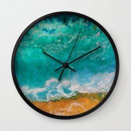 Ocean's Bliss Wall Clock