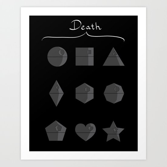 Sith geometry lessons Art Print