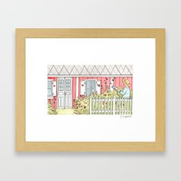 Home #3 Framed Art Print