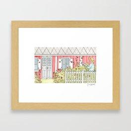 Home #3 Framed Art Print