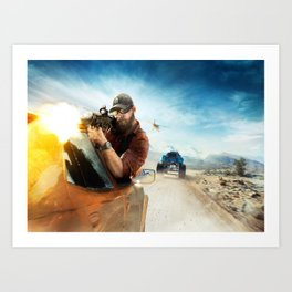 Tom Clancy's Art Print