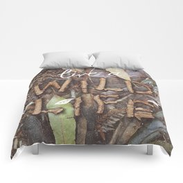 Live a Wild Life Comforters