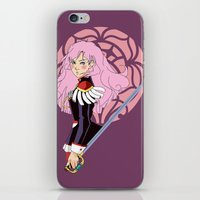 utena iPhone & iPod Skins featuring Après le duel - Rose Crest Ring by jacs terese
