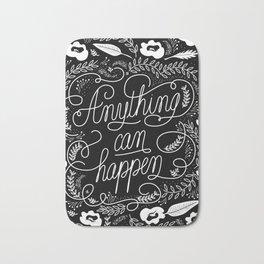Anything can happen Bath Mat