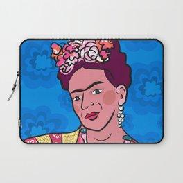 Frida Kahlo Portrait in color Laptop Sleeve