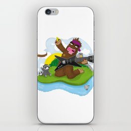 Bigfoot Rocks! iPhone Skin
