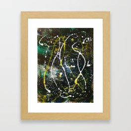 Abstract In Space Framed Art Print