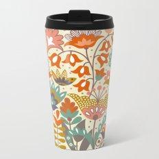 Forest flowers Metal Travel Mug