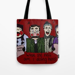 Christmas carolling (Coloured version) Tote Bag