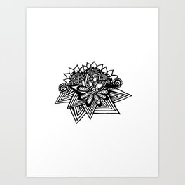 Double Sided Art Print