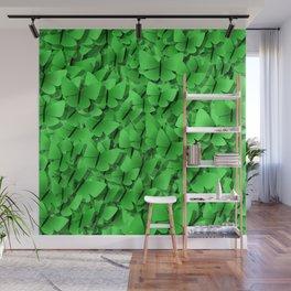 green butterflies  Wall Mural