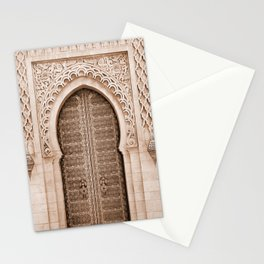 Moroccan Travel Door Stationery Cards