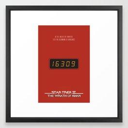 The Prefix Code Framed Art Print