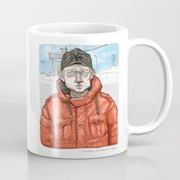 fargo Mugs featuring Lester Nygaard… He'd hate for your pretty face to freeze…  by suPmön