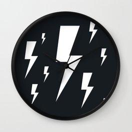 Lightning bolts Wall Clock