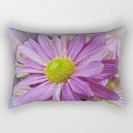 Lavender African Daisy Rectangular Pillow