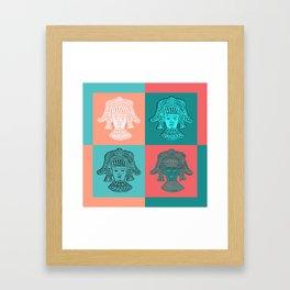 Mayan Magic Framed Art Print