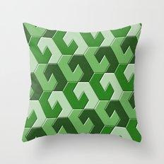 Geometrix XXVII Throw Pillow