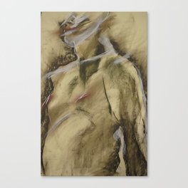 Klooster Series: Male Nude #107 Canvas Print