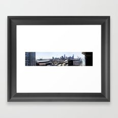 Docklands Panoramic  Framed Art Print
