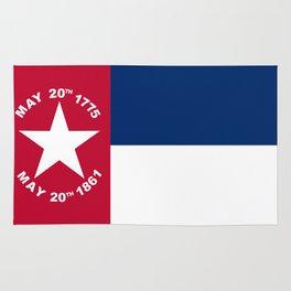 North Carolina Secession Flag Rug