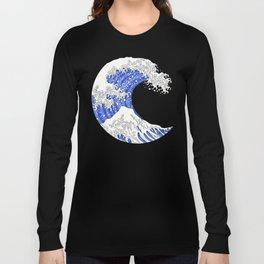 Great Blue Wave Long Sleeve T-shirt