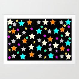 American Mutt Stars 2 Art Print