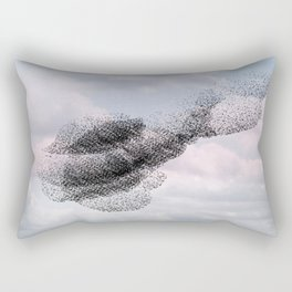 Swooping and looping version 2 Rectangular Pillow