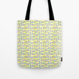 rectangle and abstraction-mutlicolor,abstraction,abstract,fun,rectangle,square,rectangled,geometric, Tote Bag