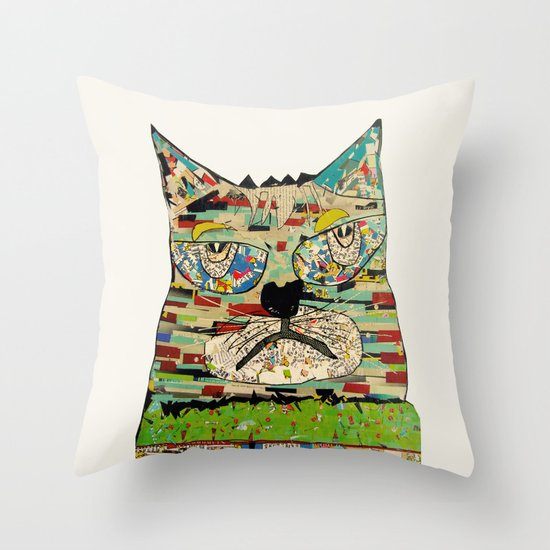 jam Throw Pillow