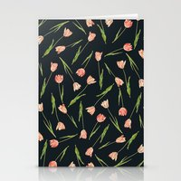 tulips Stationery Cards featuring Tulips by Heart of Hearts Designs