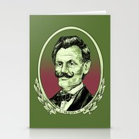 lincoln Stationery Cards featuring Lincoln by Esteban Ruiz
